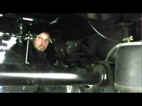 Ремонт оси грузовика, полуприцепа, прицепа - YouTube