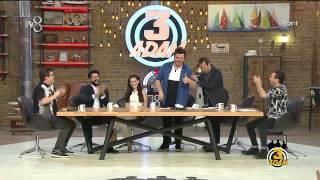 3 Adam - Eser Yenenler Çok Bozuldu (2.Sezon 17.Bölüm)