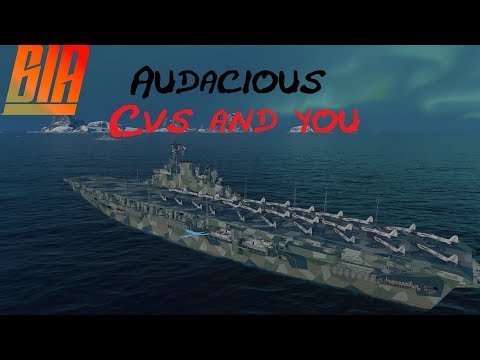 World of Warships-Audacious CVs and you