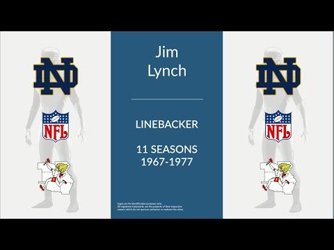 Jim Lynch: Football Linebacker