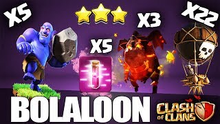 How to BoLaLoon - LavaLoon TH10 Attack Strategy 3 Stars | Th10 GoBoLaLoon | Clash of Clans