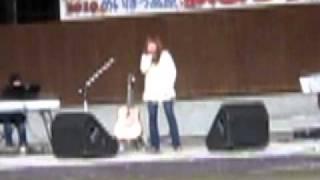 2010・10・24 めいほう高原秋まつりでのライブ.