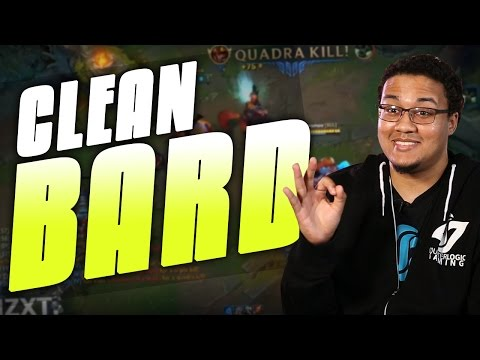 CLEAN BARD | Support mains hate him! - Aphromoo