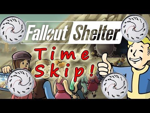 Fallout Shelter! Time Skip Glitch!