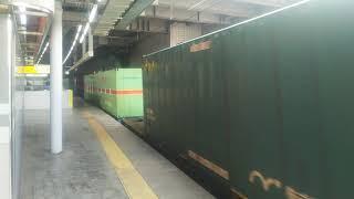 2019/2/24 貨物列車1050レEF210-113号機(新)牽引 名古屋駅通過