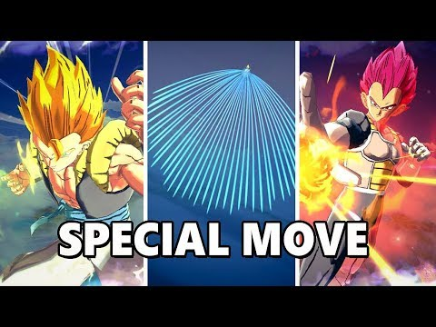ALL SPECIAL MOVE - DRAGON BALL LEGENDS