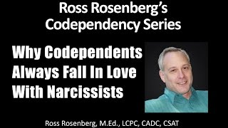 CODEPENDENTS ALWAYS FALL IN LOVE WITH NARCISSISTS.  Narcissism Codependency Relationship Expert