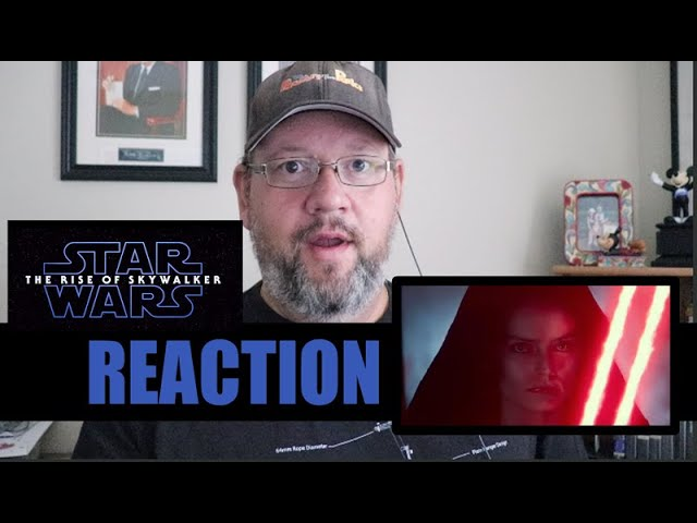 Star Wars: The Rise Of Skywalker D23 Special Look Trailer Reaction