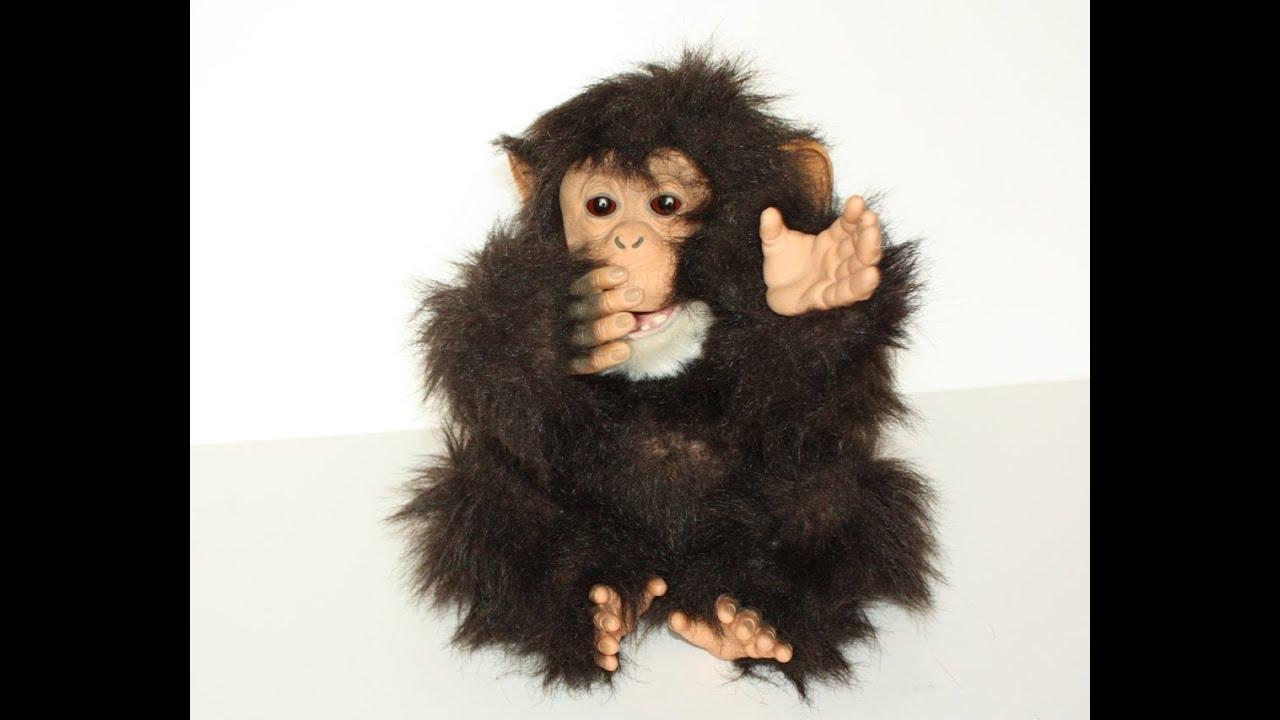 furreal friends cuddle chimp instructions