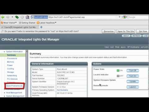 Exalogic Integrated Lights Out Manager (ILOM)