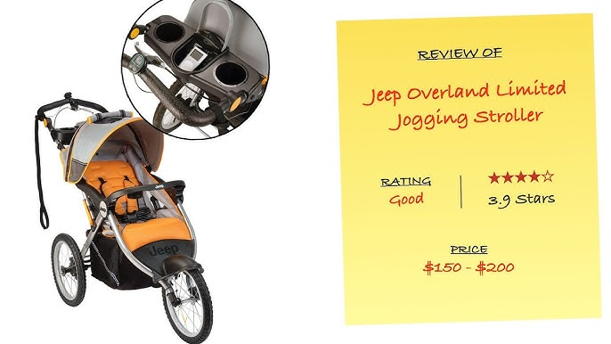 Review Of Jeep Overland Limited Jogging Stroller With Front Fixed