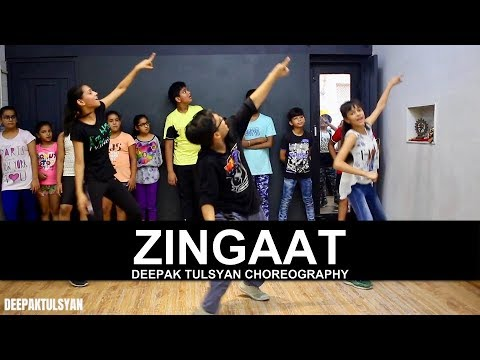 Zingaat Dance Choreography  Adv Kids  Class   Dhadak  Bollywood Dance  Deepak Tulsyan