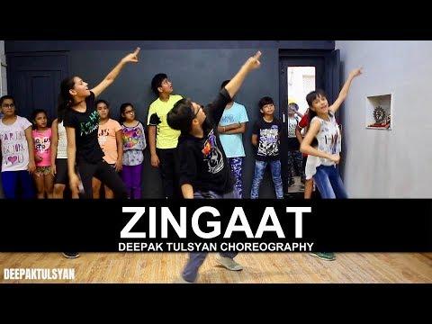 Zingaat Dance Choreography | Adv. Kids | Class Video | Dhadak | Bollywood Dance | Deepak Tulsyan