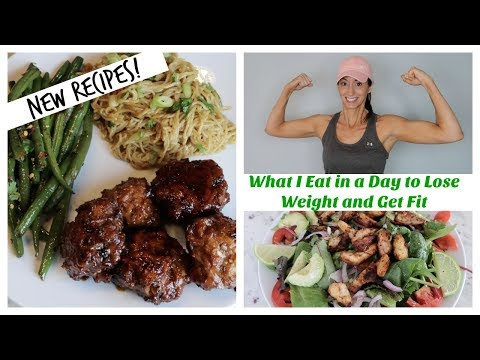 What I Eat In A Day For Weight Loss + New Asian Inspired Glazed Meatballs Dinner Recipe