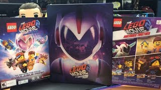 The LEGO Movie 2 The Second Part Steelbook Blu Ray Unboxing (Best Buy Exclusive)