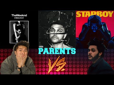 PARENTS FIRST REACTION TO THE WEEKND | WICKED GAMES | TELL YOUR FRIENDS | SIDEWALKS KENDRICK LAMAR