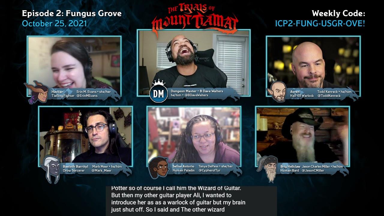 Download Fungus Grove   Trials of Mount Tiamat   Episode #2   D&D