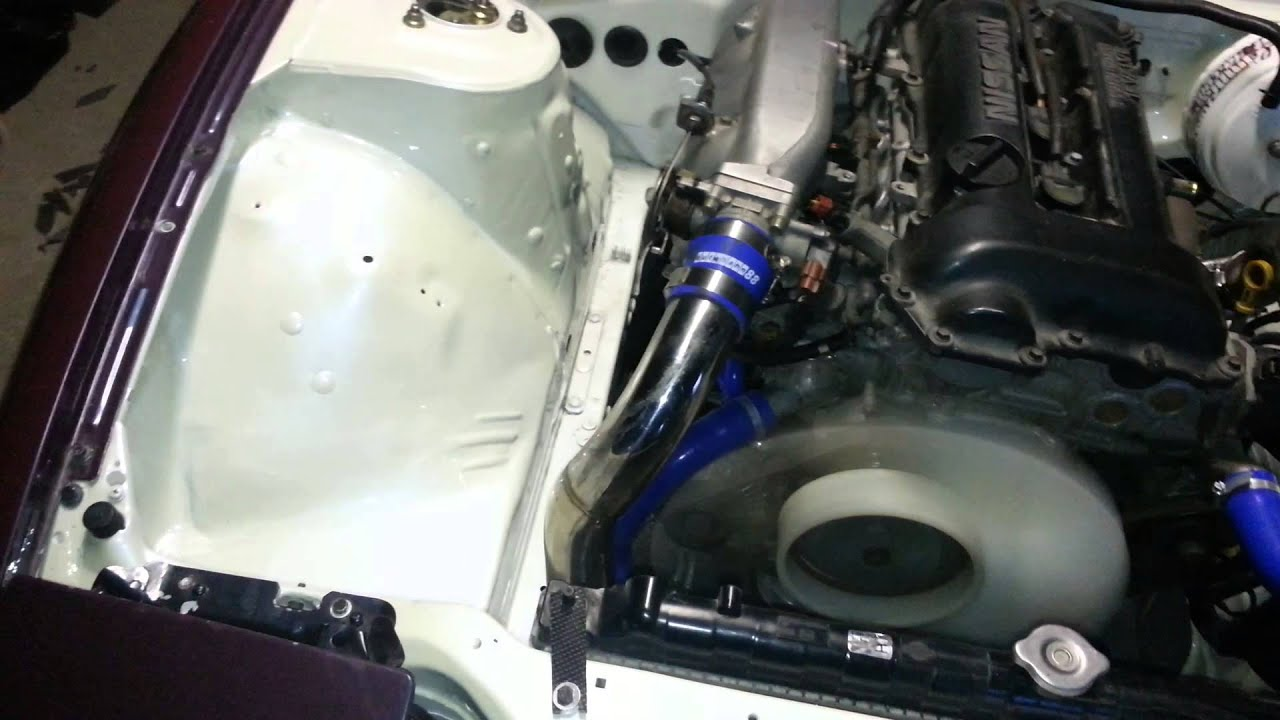 small resolution of wire tuck s13 sr20det avec nats de s14a youtube 240sx wiring harness tuck