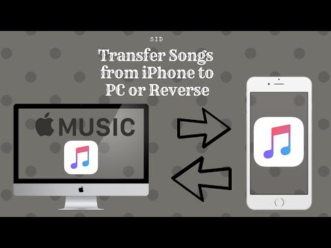 How to move itunes music from iphone to computer