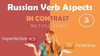 Beginning Russian: Verbal Aspect in Contrast. Part 5: Multiple Events