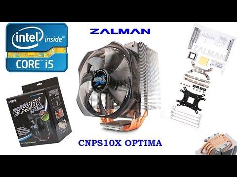 Инструкция по установке и тестирование кулера Zalman CNPS10X Optima