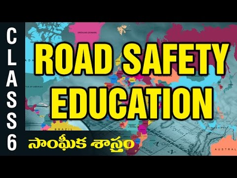 Road safety education | 6th Class Social  Studies | Digital Teacher
