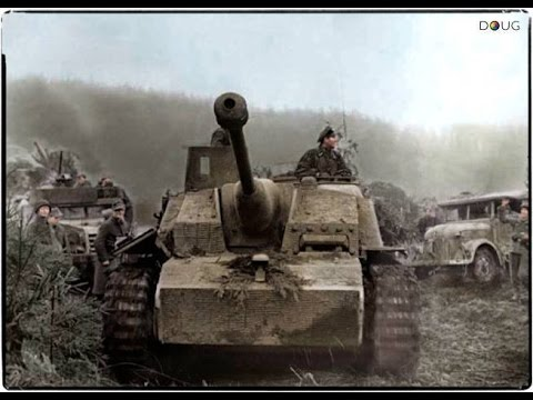 Battle Of The Bulge 1944/1945 (Combat Footage)