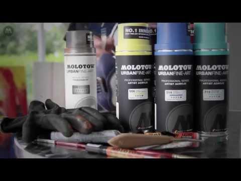 MOLOTOW™ Product Sessions #24  - Canvas Art Techniques