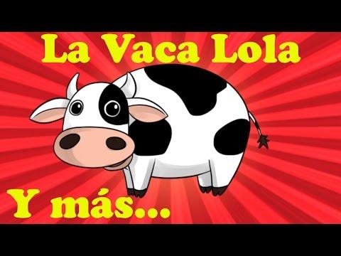 La Vaca Lola   Y muchas más canciones infantiles   ¡45 min de Lunacreciente!