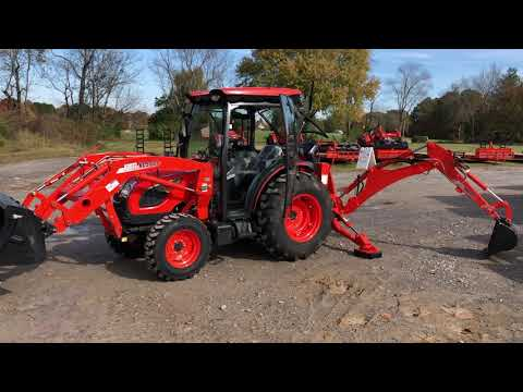 KIOTI CAB TRACTOR LINEUP From Larry Stovesand Equipment