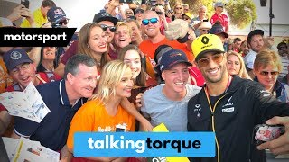 Daniel Ricciardo With Fans @ Grand Prix