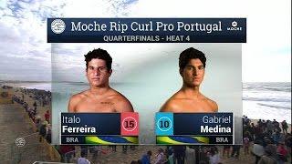 Moche Rip Curl Pro Portugal: QF, H4 Recap