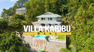 Villa Karibu on Mahé, Seychelles