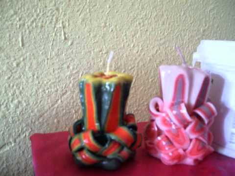 Sany1099 velas talladas youtube - Velas talladas ...