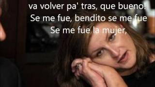 El gran combo de Puerto rico : Se me fue la mujer lyrics letra