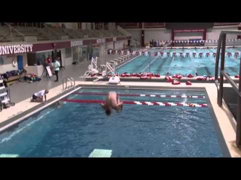 Indoor Training at Indiana University! TriSynerG Diving Camp!