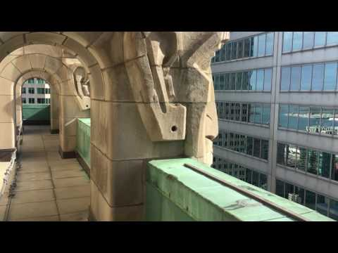 Trip to Commerce Court North's Observation Deck