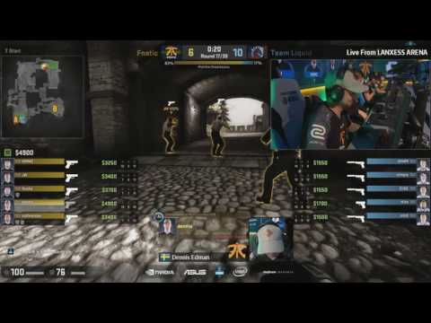 dennis ace vs. Team Liquid Semifinals ESL One Cologne 2016 with