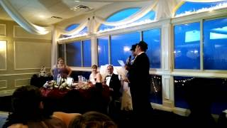 Best Man Speech at Wedding to cover of Frank Sinatra Song