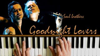 Depeche Mode Goodnight Lovers Beautiful Piano Cover