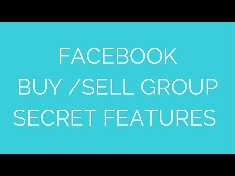 Facebook Buy Sell Group Secret Features