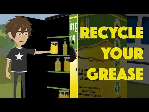 Recycling Your Grease The RIGHT Way