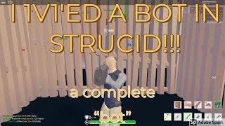 I 1v1ed A BOT IN STRUCID FORNTITE!!! II Roblox Strucid Fortnite