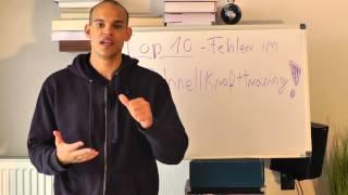 Top 10 Fehler, Nr. 7 - Kein individueller Trainingsplan (Schnelligkeit, Schnellkraft & Athletik)