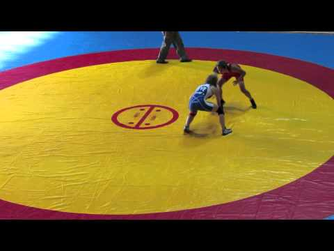 2012 Cadet Pan-American Championships: 40 kg USA vs. Augusta Eve (CAN)