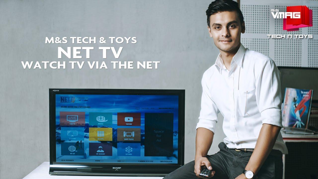 M&S Vmag-TV via the net A Complete Video Magazine