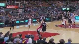 DeMar DeRozan ejected flagrant foul 2 on Bojan Bogdanovic: Nets at Raptors