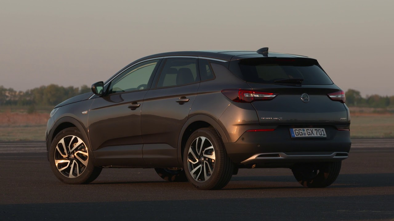 Opel Grandland X in Grey Exterior Design - YouTube