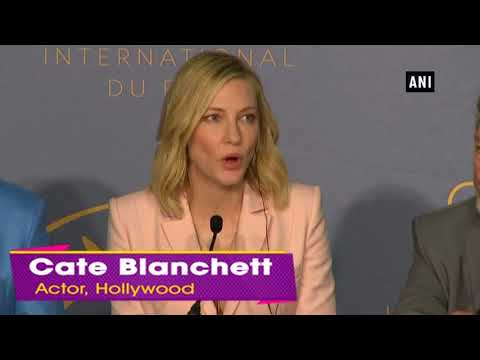 Cate Blanchett gives a barbed response to reporter's question
