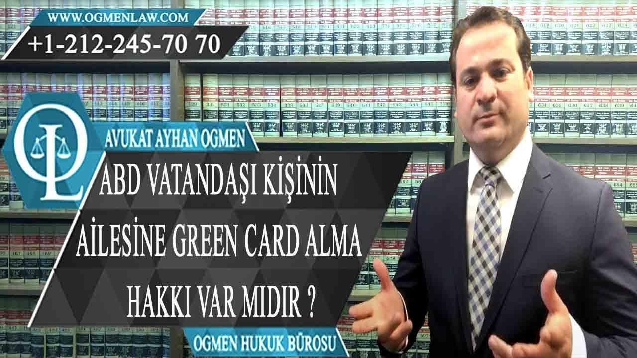 ABD VATANDAI KNN ALESNE GREEN CARD ALMA HAKKI VAR MIDIR